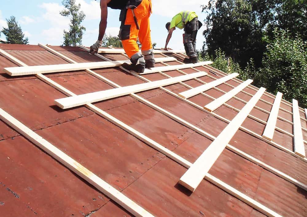 Uusi katto vanhan katon päälle